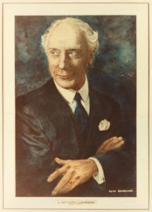 F.M.アレクサンダーの肖像画